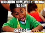 panic homework
